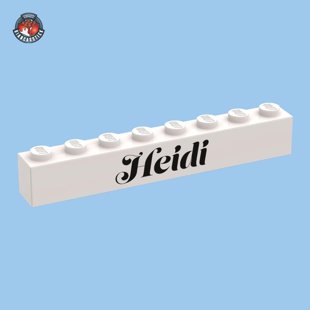 GSSK0036-brick-mattoncinopersonalizzato-1×8-testo-heidi