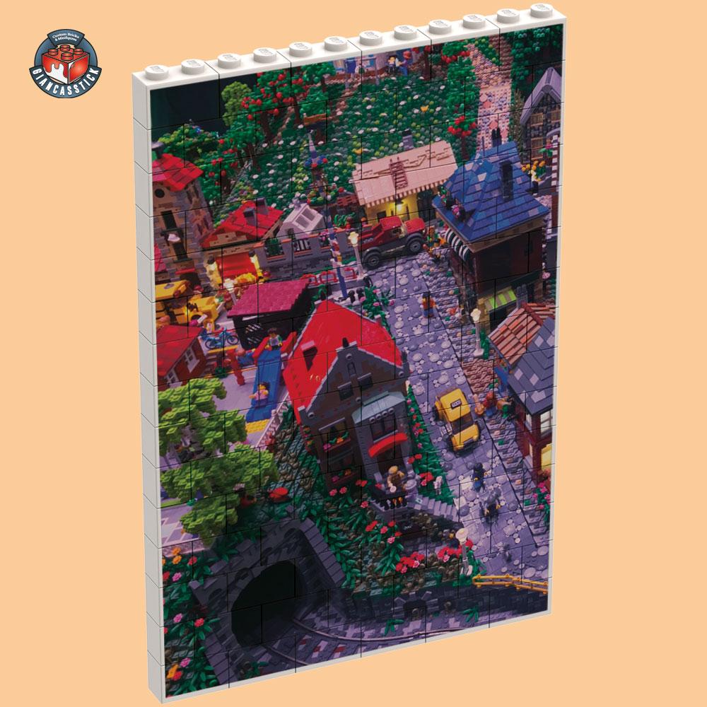 BrickPuzzle 12 x 15 (Esempio 1)
