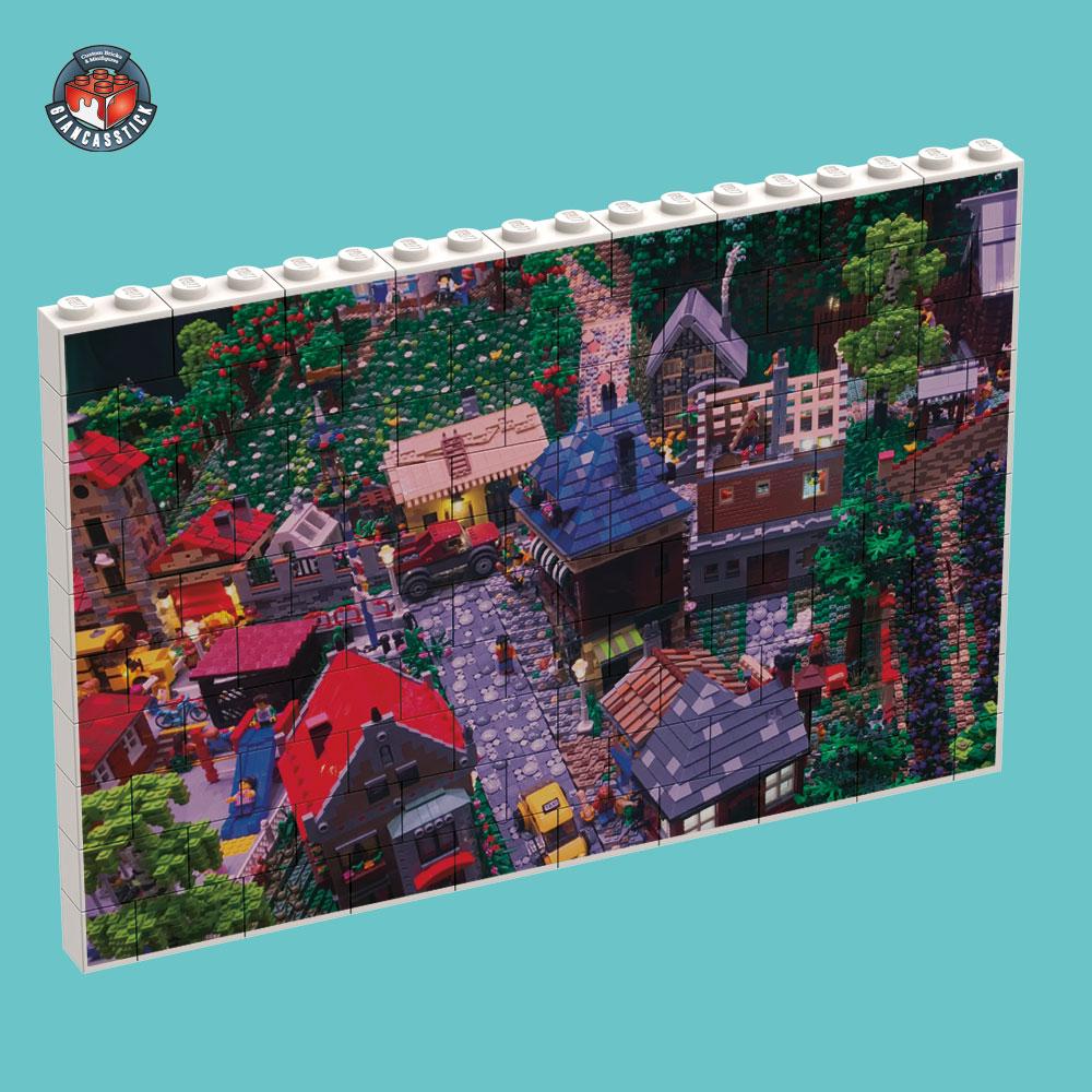 BrickPuzzle 18 x 10 (Esempio 1)