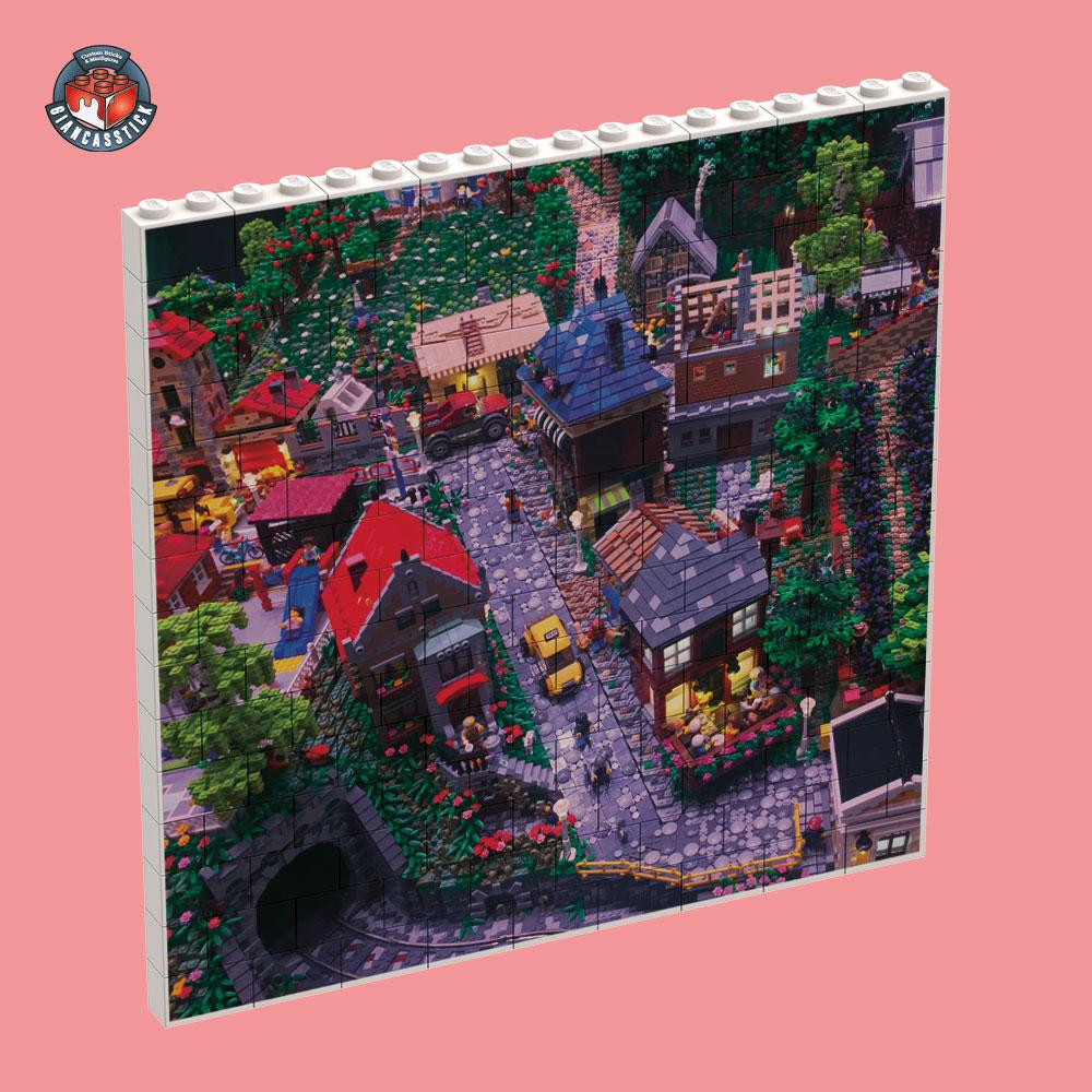 BrickPuzzle 18 x 15 (Esempio 1)