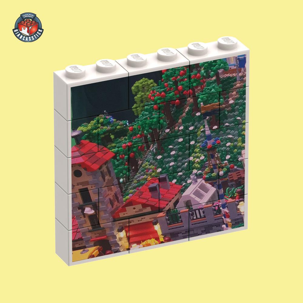 BrickPuzzle 6 x 5 (Esempio 1)